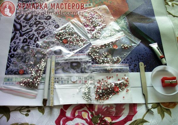материалы для алмазной вышивки